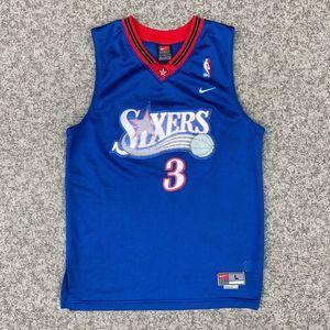 Nike 76ers Allen Iverson Swingman Jersey